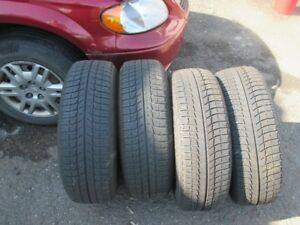 Michelin Ice x Winter Tires and Rims 4-215-70R15