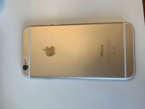 iphone 6 gold 16G```body only