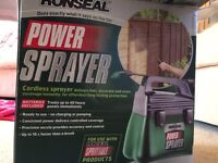 Ronseal fence sprayer - NEVER USED