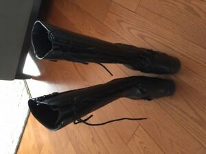 Tall Women's Dress Boots – size 5.5 - Leather