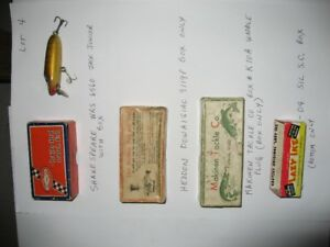 22. Fishing - Antique fishing lures for sale Lot 4: