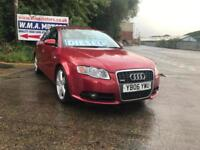 Audi A4 2.0TDI 2006MY S Line FULL SERVICE HISTORY LOW MILES
