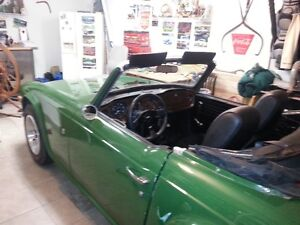 Rare 1969 Trumph TR6 - 1st Year they were made! West Island Greater Montréal image 1