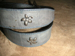 women's leather belts