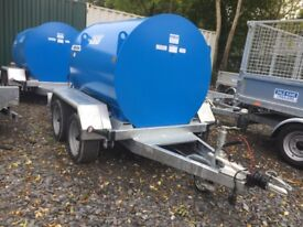 Fuel bowser 1000 ltr Dale Kane fully road legal fuel carrying bowser