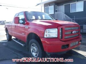 2007 FORD F250SD XLT SUPERCAB 4WD