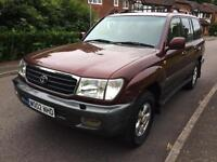 TOYOTA LAND CRUISER AMAZON 2002 4.2TD VX + DIESEL AUTOMATIC (1 OWNER)