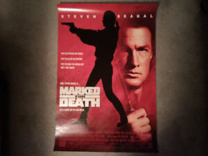 Movie Poster - Marked For Death (Steven Seagal)
