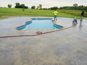 Concrete driveways, walkways, backyards & more