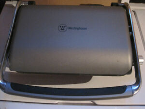 George Foreman Westinghouse Searing Grill and Griddle