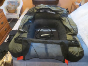 Fishing Float Tube / Belly Boat and Fins