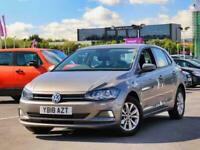 2018 Volkswagen Polo Volkswagen Polo 1.0 TSI 95 SE 5dr Hatchback Petrol Manual