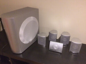JVC 5.1 home theatre system