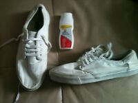 Vans white 106s size 10 worn cost £49.95 bargain at £8