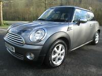 09/09 MINI ONE 1.4 GRAPHITE 3DR HATCH IN MET GREY WITH ONLY 65,000 MILES