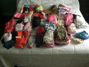Clothing lot 0-9 months