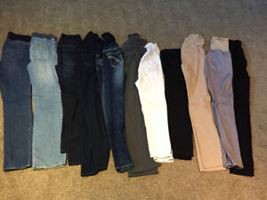 Lot of maternity/nursing clothes (size small)