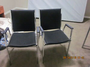 2 Nice black reading or multiple use chairs for sale. Edmonton Edmonton Area image 3