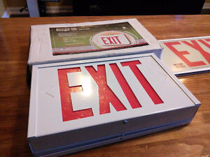 """AimLite Steel LED """"EXIT"""" sign"""