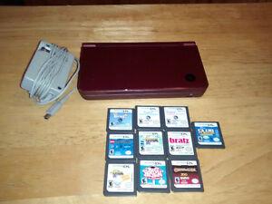 Nintendo DSI XL and games