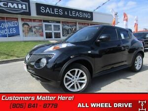 2014 Nissan JUKE SV AWD  LEATHER, BLUETOOTH, GREAT CLICKS!