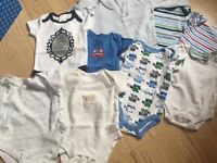 Baby boy clothes bundle 0-3 months