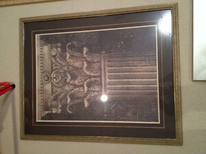 Professional High End Framed Picture
