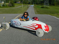2 Soap Box Derby Cars
