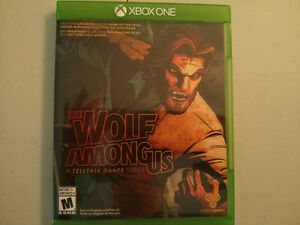 Xbox One The Wolf Among Us video game $10