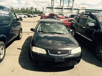2002 Nissan  Sentra Certify and E Tested.