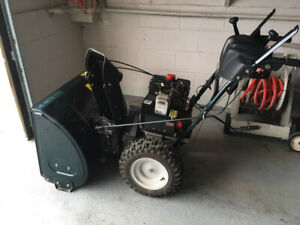 """Don't break your back! Use a snowblower! Yardworks 30"""" 10.5 HP"""
