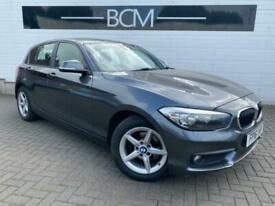 2016 BMW 1 Series 1.5 116d SE (s/s) 5dr Diesel grey Manual