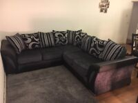One month old 5 seater Corner Sofa