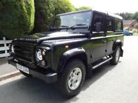 Land Rover 4WD Defender 2.4TDi County Estate 1 OWNER Low Miles 80K FSH 10 Stamps