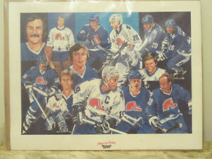 MAXWELL HOUSE 'HEROS OF HOCKEY' PRINTS