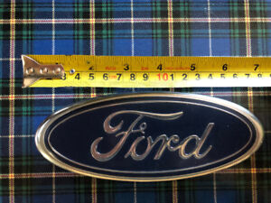 OEM ford grille emblem  7 inches