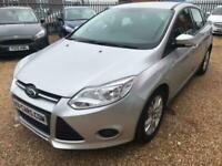 2012 62 Ford Focus 1.6TDCi Edge 5 Door Hatchback Silver £20 Tax 1 Owner FSH