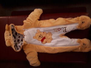 Winnie The Pooh 3 Month Snowsuit (like new)