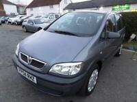 Vauxhall/Opel Zafira 1.6i 16v 2004 Life, BARGAIN, PART EXCHANGE TO CLEAR.