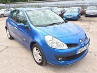 RENAULT CLIO 1.4 PRIVILEGE 5 DOOR 2007 / TIMING BELT DONE / SERVICE HISTORY / 2 KEEPERS / HPI CLEAR