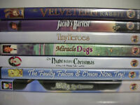 Lot of 7 DVD's Family Friendly ( 2 DVD's still factory sealed)