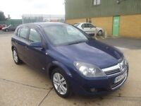 Vauxhall/Opel Astra 1.9CDTi 8v ( 120ps ) 2008 SXi BLUE, 89,000 MILES S/H