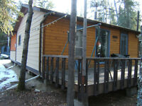 Cabin for Sale at Brightsand lake regional park MAKE AN OFFER