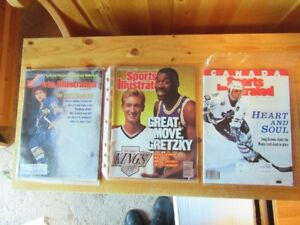 VINTAGE HOCKEY MAGS, FAN GUIDES, PORTRAITS, ETC.
