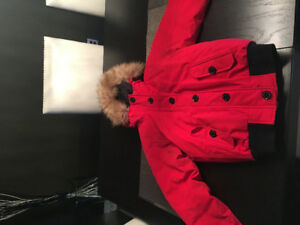 The North Face Bomber Jacket - Red Women's XS