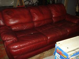 Leather Couch London Ontario image 1