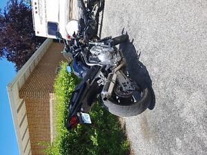 Yamaha fz1 sports bike