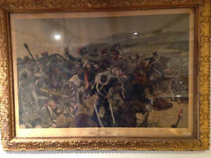 Charge of the light brigade print