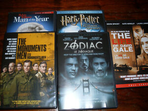 All 5 DVD's