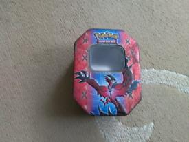 Pokémon tin.